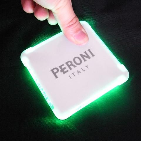 Square shape 4 LED Neon Coasters