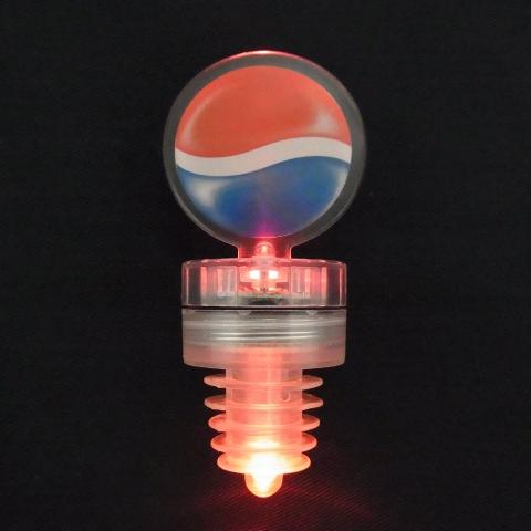 2 LED Light up Bottle stoppers