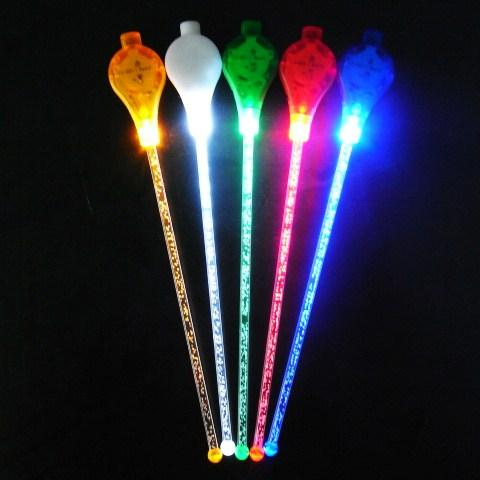 LED sound sensor stirrer sticks