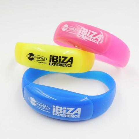 LED Silicon Wristbands